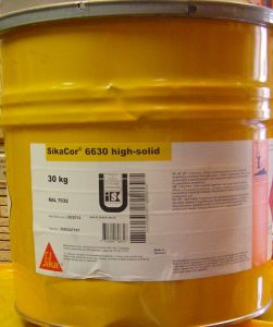 Sikacor 6630 hight-solid-RAL9006-30kg